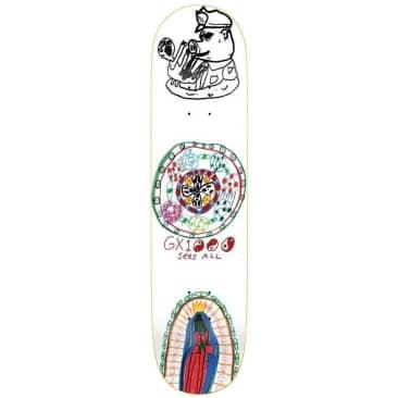 "GX1000 Sees All Skateboard Deck - 8.375"""