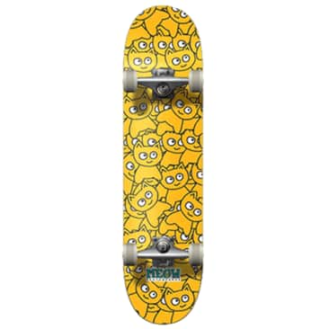 """Meow """"Pile of meows"""" Complete Skateboard 7.5"""""""