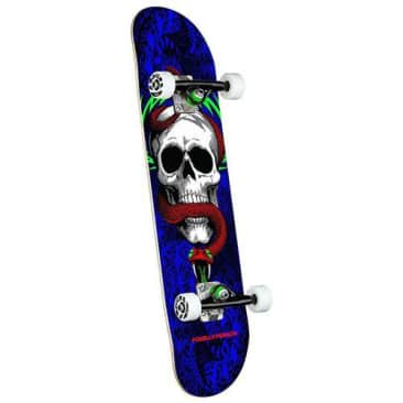 """Powell Peralta """"Skull and Snake One Off Shape"""" Complete Skateboard 7.75"""""""