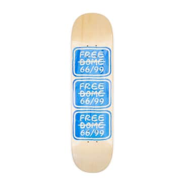 """Free Dome Stacked Logo Deck - 8.0"""""""