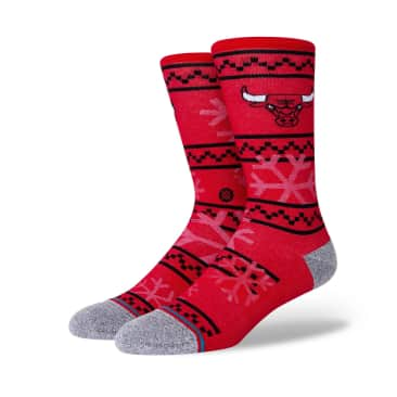 Stance Frosted 2 Chicago Bulls Socks - Red
