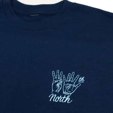 35th North 'Hand Signs' Tee - Navy