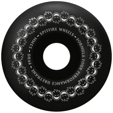 Spitfire Formula Four Repeaters Classic Full 53mm Black
