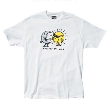 The Quiet Life - Sun And Moon T-shirt - White