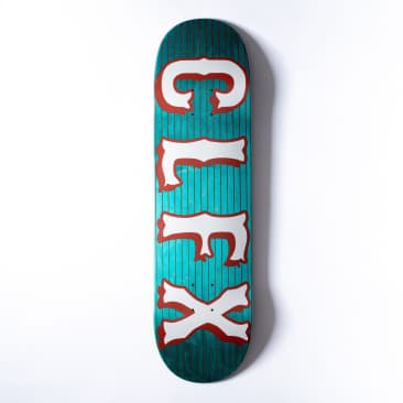 "303 Boards - Striped Block ""CLFX"" Deck (Multiple Sizes)"