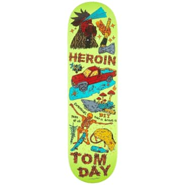 """Heroin - Day Life Deck (8.625"""")"""