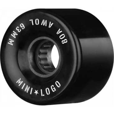 Mini Logo AWOL 63mm 80A Wheels (Black)