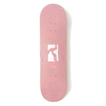 """Poetic Collective Optical Red Skateboard Deck - 8.25"""""""