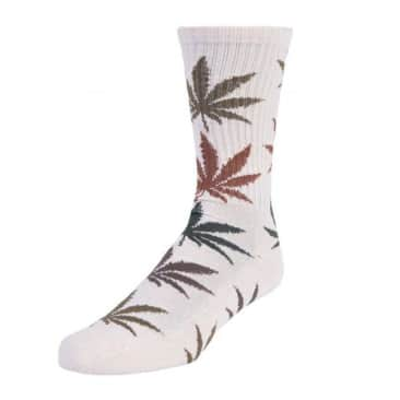 HUF Gradient Leaves Plantlife Socks - Natural