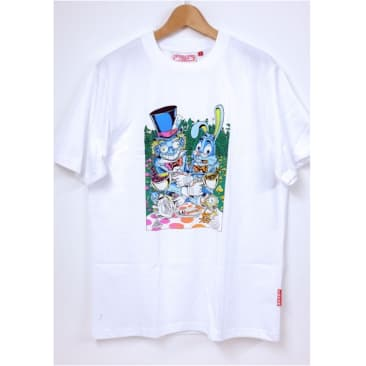Lovenskate Tea Party T-Shirt White