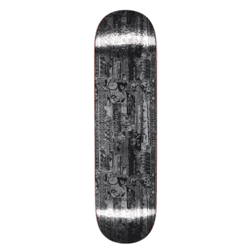 """Fucking Awesome Deck Acupuncture Silver Foil 8.38"""""""