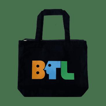 Blue Tile Lounge Tote Bag Pledge Drive (black/multi)