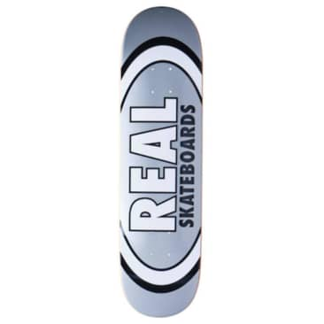 """Real Deck Classic Oval Silver (True Mid) 7.75"""""""