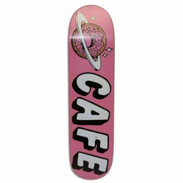 """Skateboard Cafe Planet Donut Pink Skateboard Deck 8"""""""