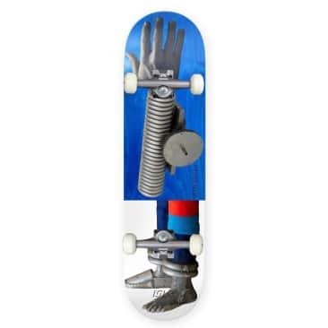 "Isle Skateboards Artist Series Kira Freije Remy Taveira Complete Skateboard 8.375"""