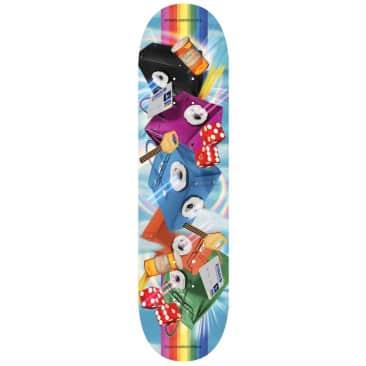 "Evisen Skateboards Rainbow Skateboard Deck 8.06"""