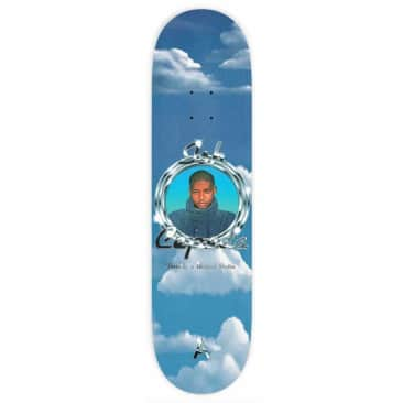 "April Skateboards Ish Cepeda Florida Skateboard Deck 8.125"""