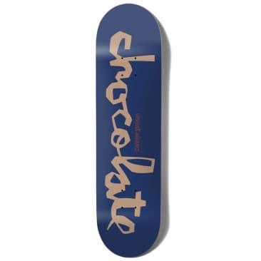 """Chocolate Skateboards OG Chunk Vincent Alvarez Skateboard Deck 7.75"""""""