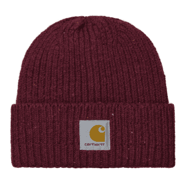 Carhartt WIP Anglistic Beanie - Speckled Wine