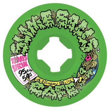 Double Take Cafe Vomit Mini Yellow Green 95a Slime Balls Wheels - 54mm