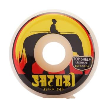 Satori Elephant 53mm 84b Top Shelf Urethane Wheels