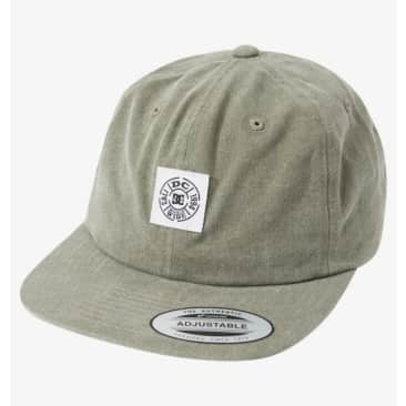 DC Shoes Stamped Strapback Cap - Ivy Green