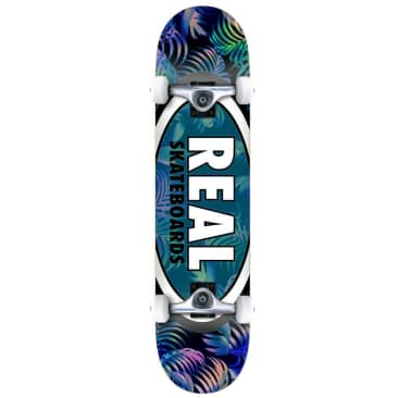"""Real Team Tropic Ovals Complete Skateboard - 7.5"""""""