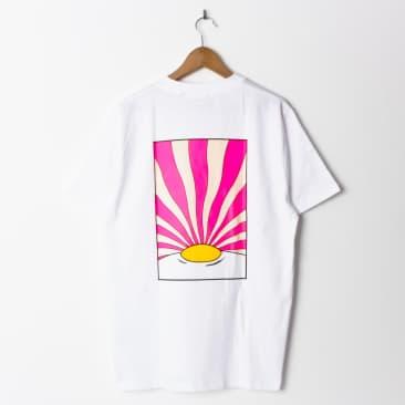 Lovenskate Sunny Side Up T Shirt (Back Print)