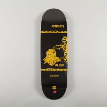 """Chocolate 'Raven Tershy - Be Nice' 9.25"""" Deck (Couch Shape)"""
