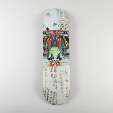 """GX1000 'Stay Up Late Club - One' 8.375"""" Deck"""