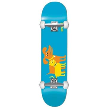 Enjoi Cat Dog Youth First Push Complete Skateboard 7.0