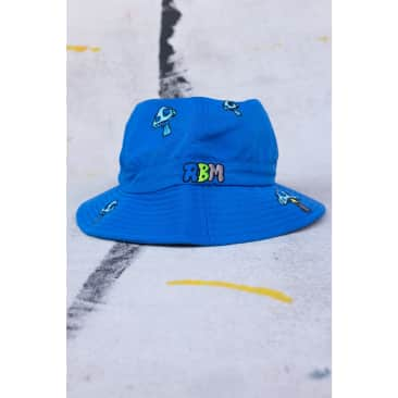 Delic Embroidered Bell Bucket Hat - Royal
