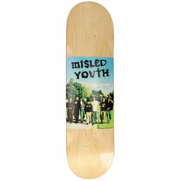 """Zero Skateboards Misled Youth Deck 