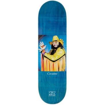 "Carve Wicked Don't Do Drugs Skateboard Deck | Blue | 8.75"""