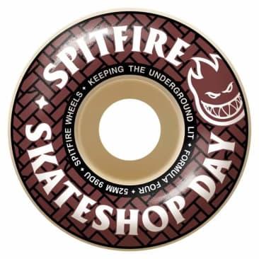 Spitfire Skate Shop Day Wheels | 52mm