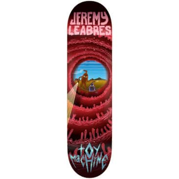 """Toy Machine Leabres Cave Sect Skateboard Deck 