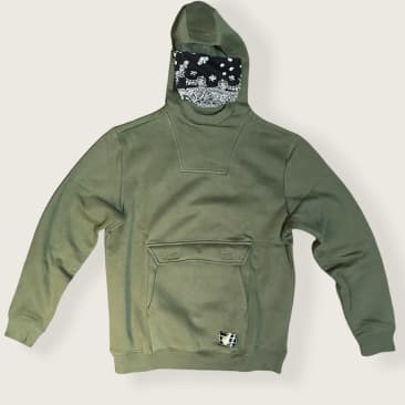 DC Recon Hooded Sweat Green