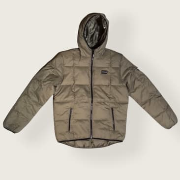DC Square Up - Insulated Hooded Jacket