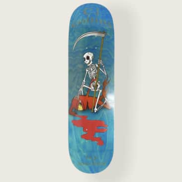 "Toy Machine Collins Reaper Skeleton 8.25"" Deck"