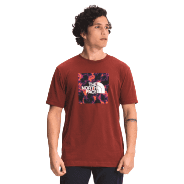 Boxed In Tee   Brick House Red