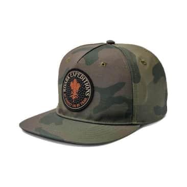 Hunter Unstructured Hat | Black