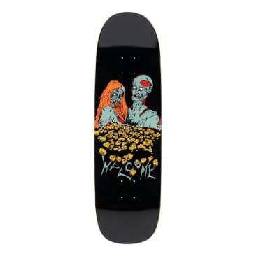 """Welcome Deck - Zombie Love on Boline - Black 9.25"""""""