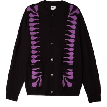 OBEY Clothing - Souvenirs Cardigan - Black/Multi