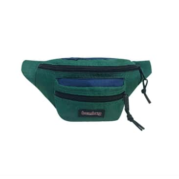 Louie Lopez Hybrid Hip Pack - Navy & Forest Green
