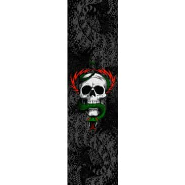 Powell Peralta Grip Tape Sheet 10.5 x 33 MCGILL AND SNAKE Black