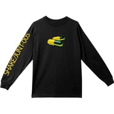 Shake Junt Addicted Longsleeve T-Shirt Black