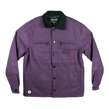WELCOME FORNAX FLANNEL JACKET- NIGHTSHADE