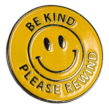 PICTURE SHOW BE KIND ENAMEL PIN