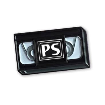 Picture Show VHS Enamel Pin