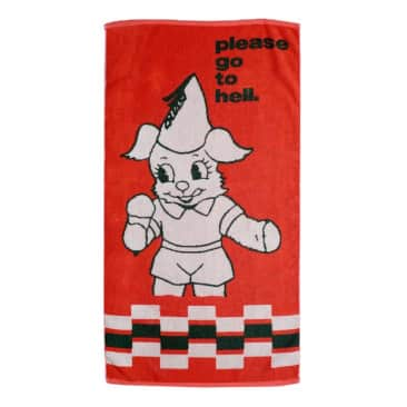 Go To Hell Towel
